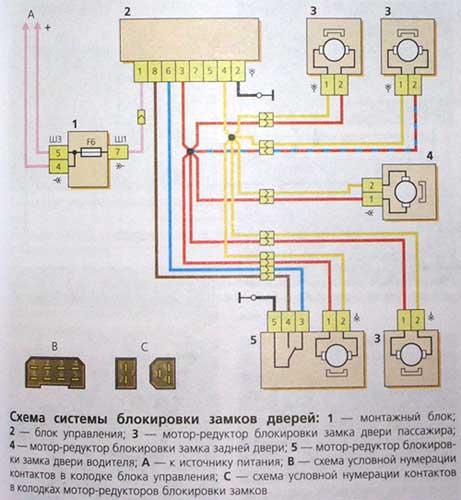 Схема проводки стеклоподъемника нива шевроле